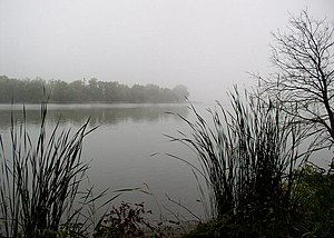 Split Rock Creek State Park - Image: Split Rock Creek State Park in fog