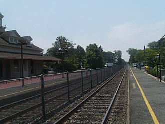Spring Lake, New Jersey - Spring Lake station, which is served by NJ Transit's North Jersey Coast Line