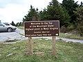 Spruce Knob - High Point Sign.jpg