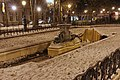 Square Henri-Christiné (Paris) sous la neige 03.jpg
