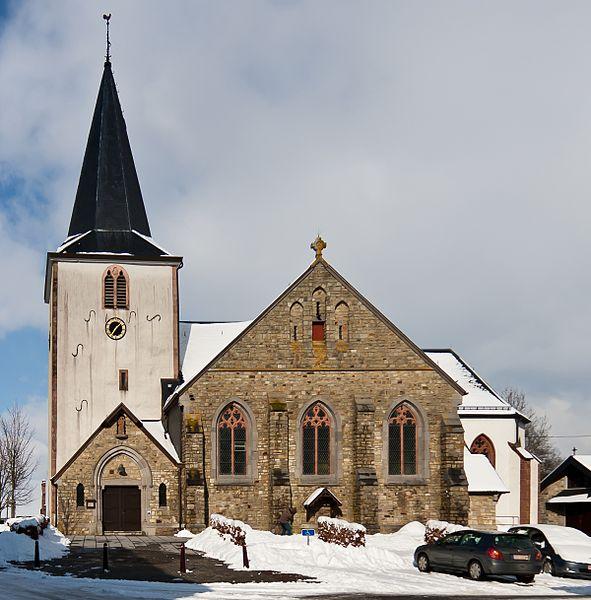 St. Eligius Kirche, Büllingen, Belgien