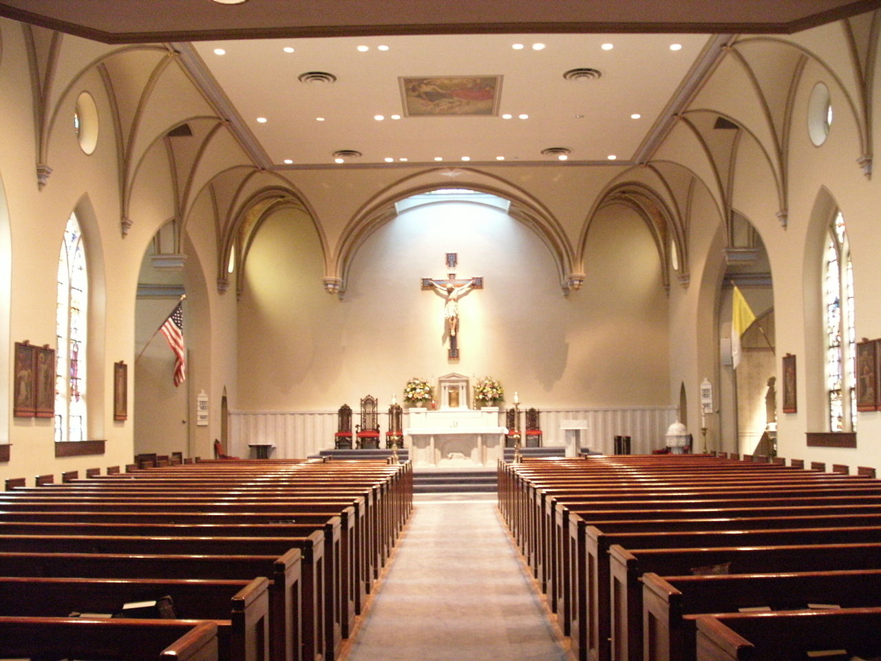 File:St. Mary's Catholic Church interior, Alexandria, VA ...