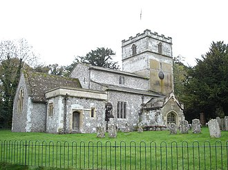 Gussage St Michael - Image: St. Michael's church in Gussage St. Michael geograph.org.uk 276743