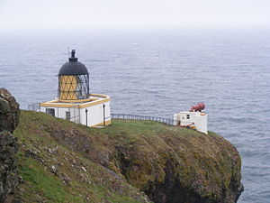 St Abb's Head - The lighthouse and foghorn