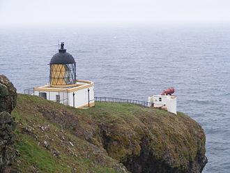 St Abb's Head - The lighthouse and foghorn