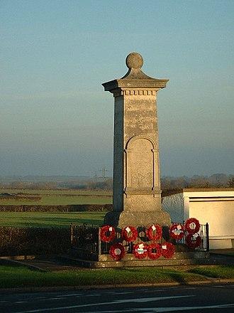 St Athan - St Athan War Memorial