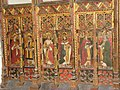 St Catherine's church - rood screen panels - geograph.org.uk - 1547671.jpg