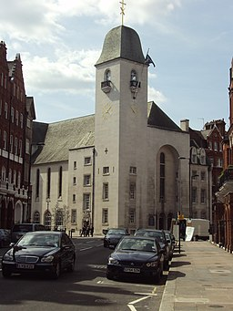 St Columba's Church, Pont Street, Knightsbridge - DSC05410
