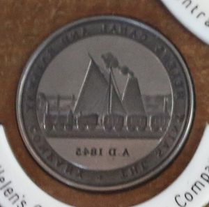 Sankey Canal - The seal of St Helens Canal and Railway Company