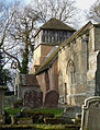 St James's Church and Churchyard, Shipton, Shropshire - geograph.org.uk - 672961.jpg