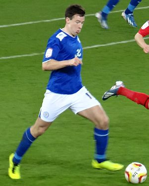 Sean St Ledger - St Ledger playing for Leicester City in 2013.