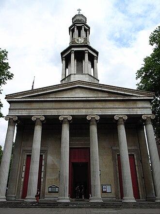 Henry William Inwood - Image: St Pancras Parish Church