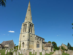 Grade II* listed buildings in Rutland - Image: St Peter's Church, Barrowden, Rutland 1
