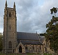 St Thomas a Becket Church Northaw Road West and Vineyards Road Northaw Hertfordshire England UK from South.jpg