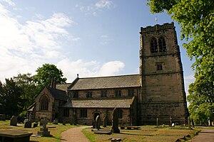 Mobberley - Image: St Wilfrid's Church