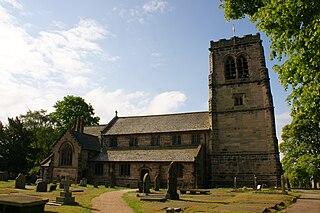 Mobberley Human settlement in England