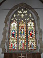 Stained glass window within St John the Baptist, Sutton (2) - geograph.org.uk - 1772791.jpg