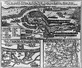 Stand und eigentliche Abbildung dess scharffen Gefechts Zwischen denen Kaÿserlichen Aliirten und Frantzösischen Armeen underm Feld Marschallen von Turrenne vorgangen bey Holtz- und Enstsheim LCCN2016645798.jpg
