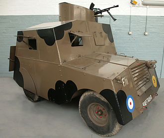 Standard Beaverette - The Beaverette Mk III at the Imperial War Museum Duxford