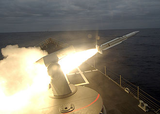 RIM-66 Standard - A RIM-66 being launched in 2006 from the Spanish frigate Canarias