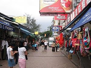 Demographics of Hong Kong - Stanley Market