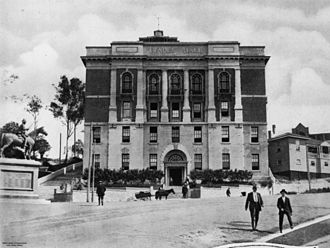 Brisbane Trades Hall - The Brisbane Trades Hall, ca. 1928