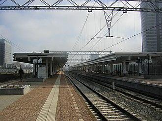 Amsterdam Zuid station - Image: Station Amsterdam Zuid
