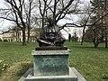 Statue of Mohandas K. Gandhi in Geneva - 3.JPG