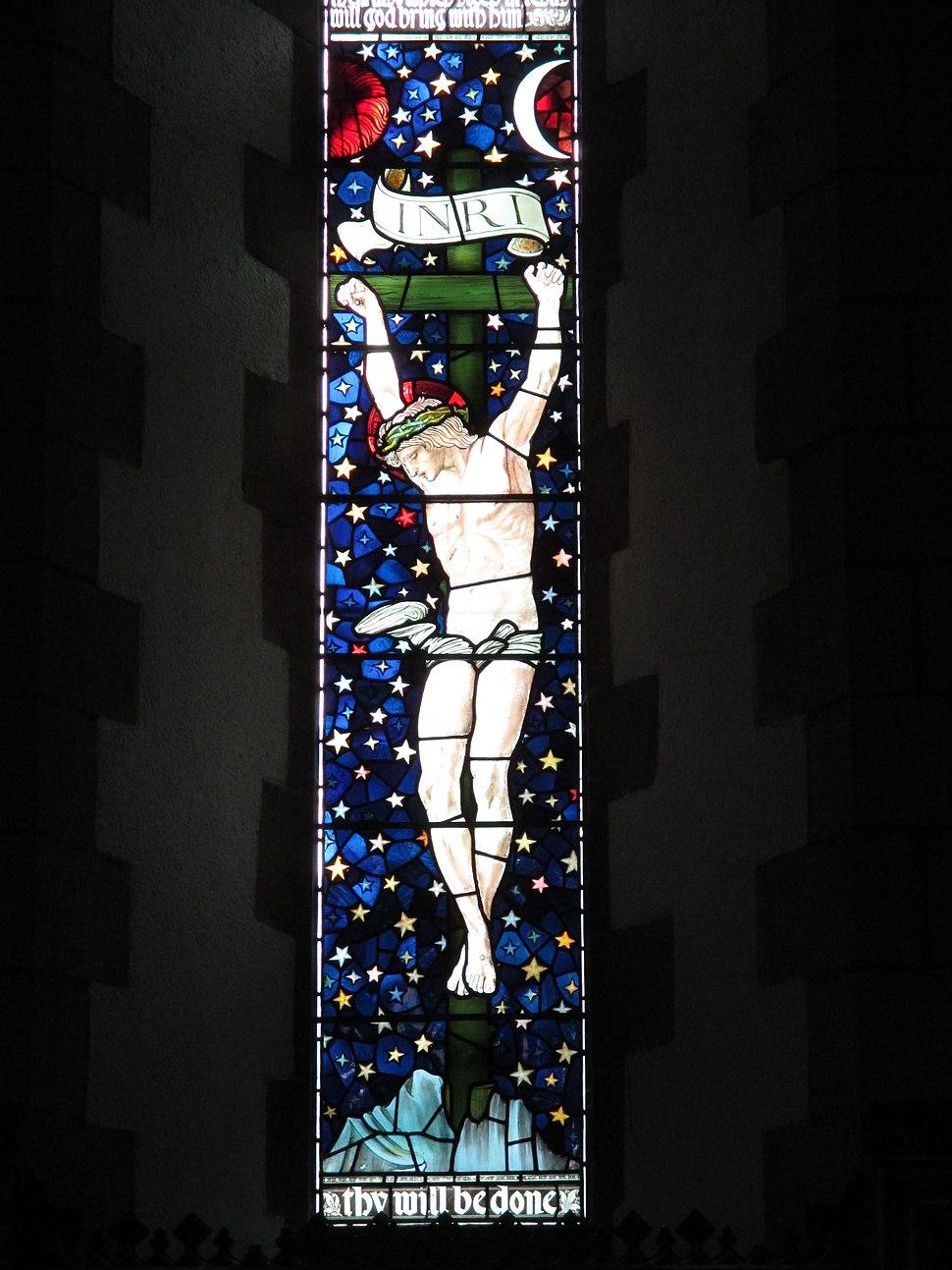 Staveley crucifixion
