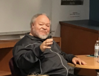 Stephen Henderson (actor) - Henderson presenting at Amherst Central High School on March 29, 2018