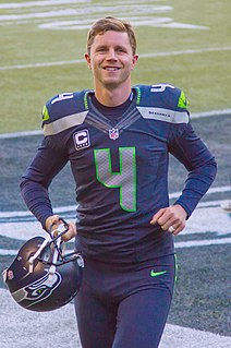 Stephen Hauschka American football placekicker