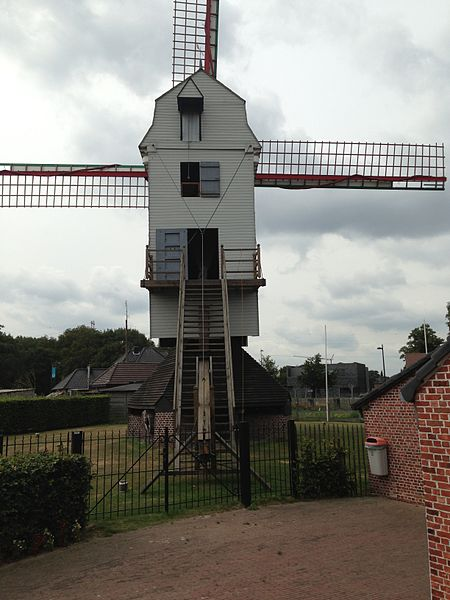 The Star Mill (Stermolen) at Eksel - fully restored and in function on the second saturday and fourth sunday of each month.