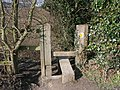 Stile by the Nottingham Canal - geograph.org.uk - 1194675.jpg