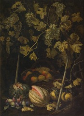 Still Life with Fruit and Vine