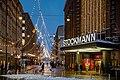 Stockmann department store by Aleksanterinkatu in Helsinki, Finland, 2021 January.jpg