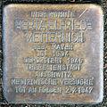 Stumbling block for Herta Elfriede Metternich (Thieboldsgasse 98)