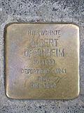 Stolperstein Albert Oppenheim.jpg