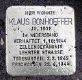 Stolperstein Alte Allee 9-11 (Westend) Klaus Bonhoeffer2.jpg