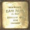 Stolperstein Bernstorffstr 99 für Isaak Pulka