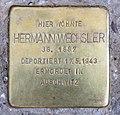 Stolperstein Freisinger Str 5a (Schön) Hermann Wechsler.jpg