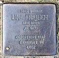 Stolperstein Gleditschstr 80 (Schöb) Lina Freilich.jpg