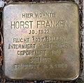 Stolperstein Kleve Tiergartenstraße 14 Horst Franken.jpg