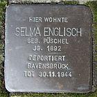 Stolperstein für Selma Englisch