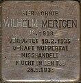 Stolperstein Solingen Burgstraße 84 Wilhelm Mertgen.jpg