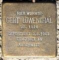 Stolperstein Stierstr 20 (Fried) Gert Löwenthal.jpg