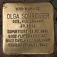 Stolperstein Westfälische Str 70 (Halsee) Olga Schreiber.jpg