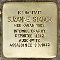 Stolperstein für Suzanne Starck (Fontenay-sous-Bois).jpg
