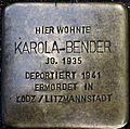 Stumbling block for Karola Bender (Lungengasse 43)