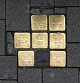Stolpersteine Krefeld, Verlegestelle Neusser Straße 38.jpg