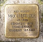 Stolpersteine Regensburg Uhlfelder.jpg